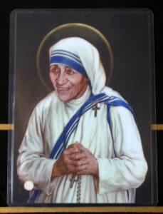 Saint Mother Teresa 3rd class relic.