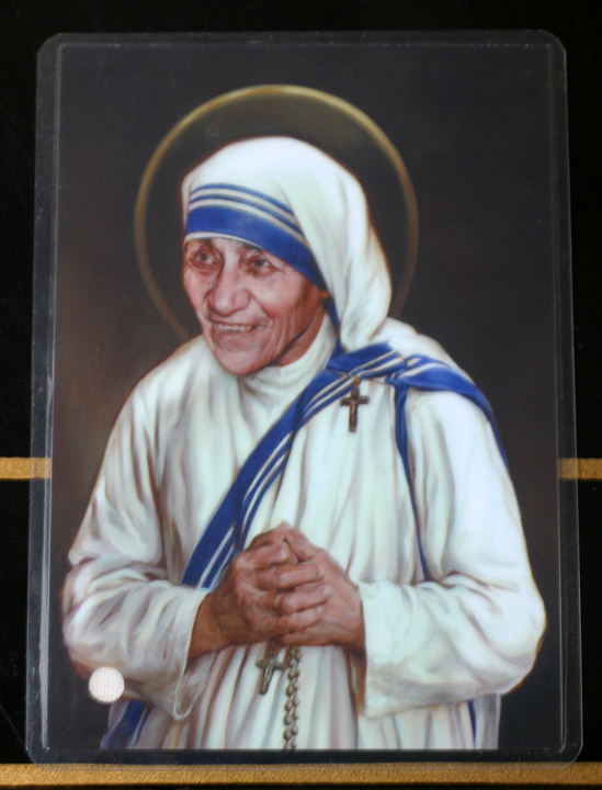 Saint Mother Teresa 3rd class relic.