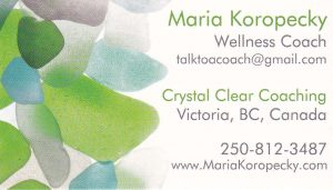Have you thought about hiring a wellness coach to manage stress? Contact Maria today.