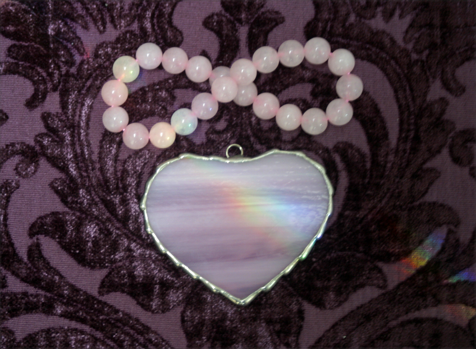 Rose Quartz & Rainbows.