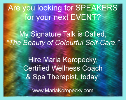 The Beauty of Colourful Self-Care Signature talk