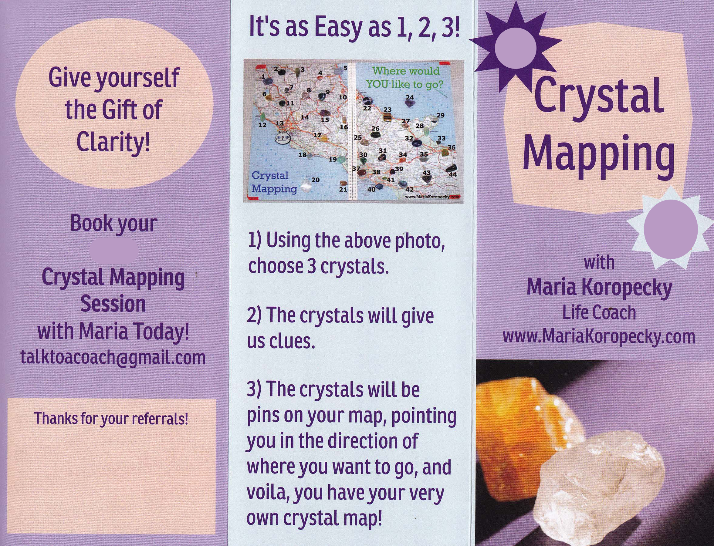 Crystal Mapping Session.