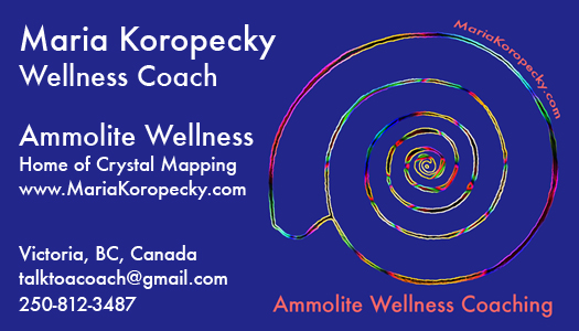 Wellness Coach Maria Koropecky Ammolite Wellness.