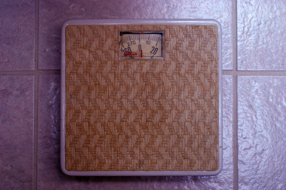 Sunbeam Vintage Bathroom Scale.