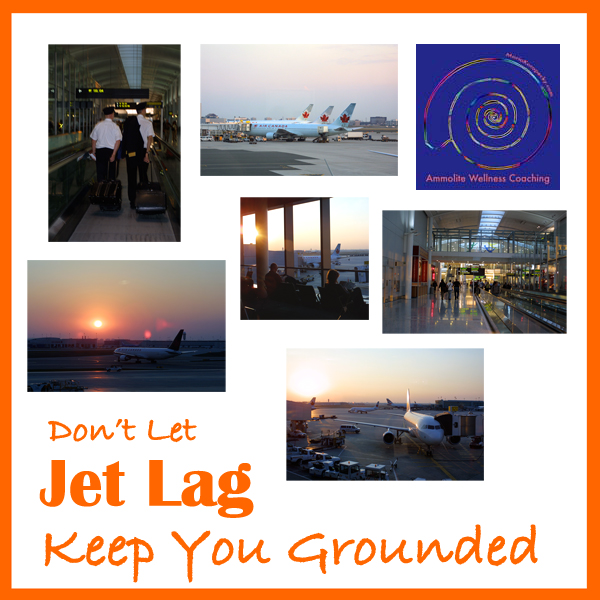 Don't let jet lag keep you grounded.