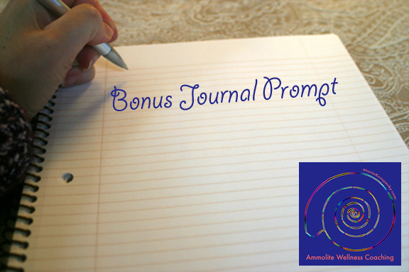 Bonus Journal Prompt.