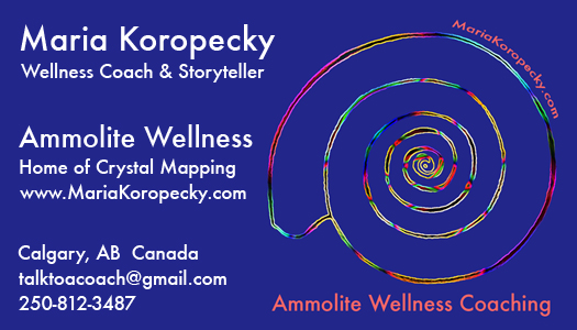 Maria Koropecky Wellness Coach & Storyteller.