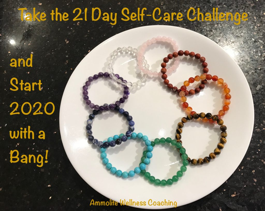 Take the 21 day self-care challenge and start 2020 with a bang!